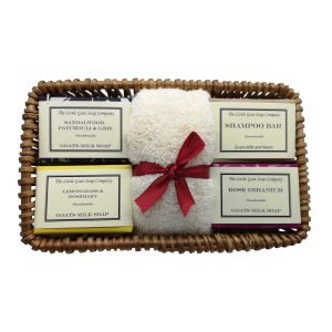 4 Soap Gift Basket