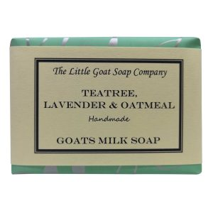 Teatree & Lavender Oatmeal Soap 100g