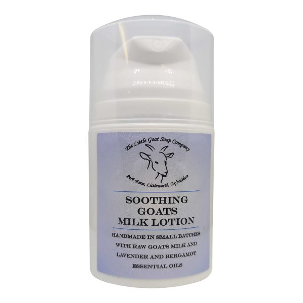 Soothing Goats Milk Lotion 50ml