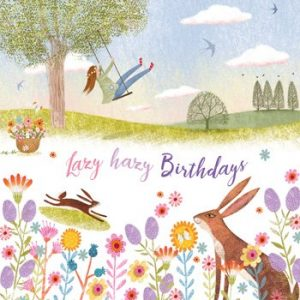 Meadow Hare - Happy Birthday