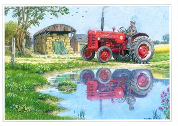 Red Tractor - Happy Birthday