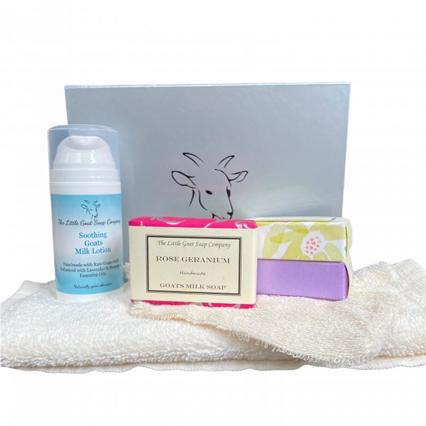 100ml Lotion and 3 Soap Gift Box