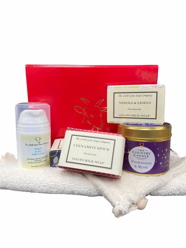 3 Soap, Lotion and Candle Gift Set