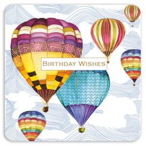 Hot Air Balloons - Birthday Wishes