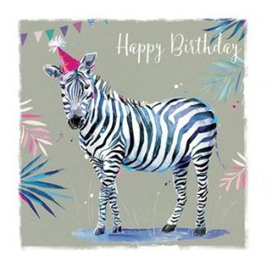 Zebra - Birthday