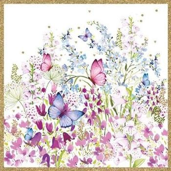 Butterflies and Foxgloves - Blamk for your own message