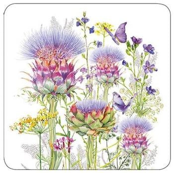 Thistle Flowers - Blank for your own message