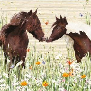 2 Horses - Blank for your own Message